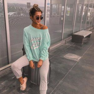 NWT Wildfox Non-stop Vacation Sweater